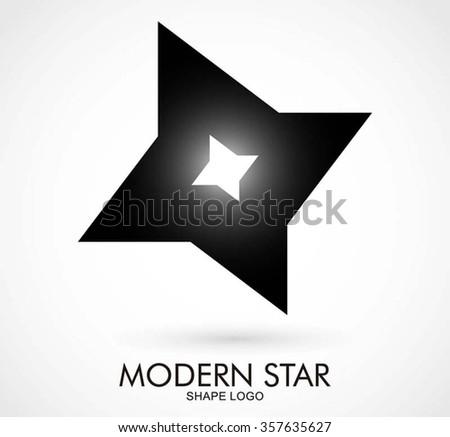 Ninja Star Steel Sharp Abstract Vector Stock Vector 357635627 ...