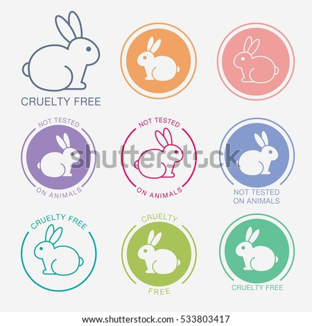 No Animals Testing Icon Design Not Varastovektori 533803417 - Shutterstock