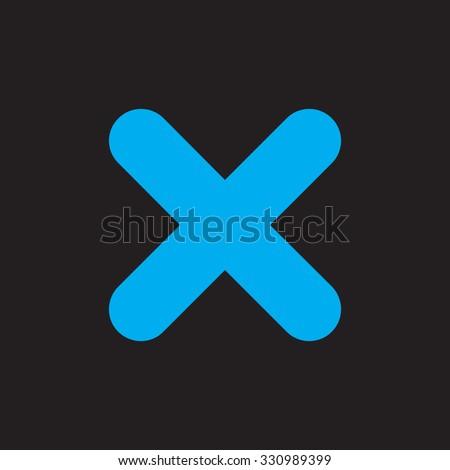 no icon. black icon. eps 10. - stock vector