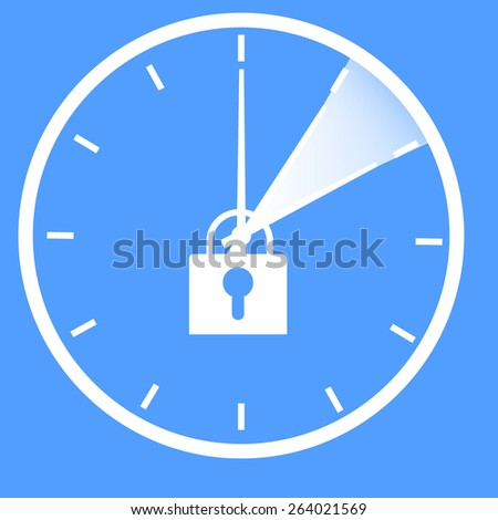No more time change  - stock vector