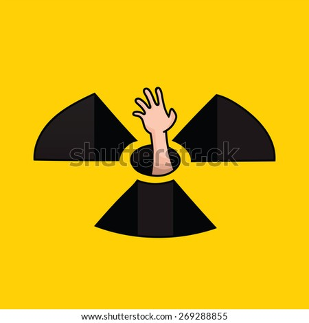 No Nuke - stock vector