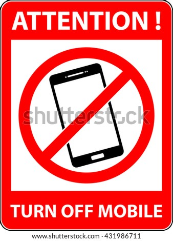 No phone, telephone, cellphone and smartphone prohibited symbol. Sign indicating the prohibition or rule. Warning and forbidden. Flat design. Vector illustration. Easy to use and edit. EPS10. - stock vector