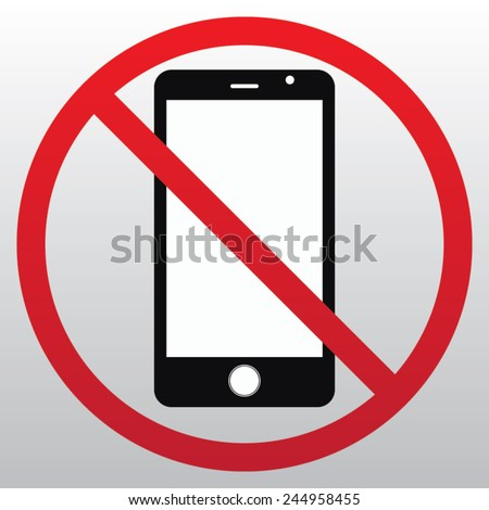 no cell phone sing