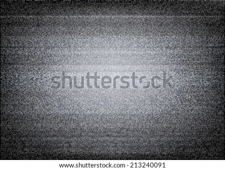 No signal TV illustration. Scalable vector. Error concept - stock vector