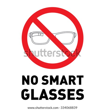 no smart glasses icon