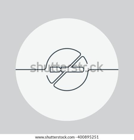 No smoking icon. No smoking sign white background. No smoking sign white background. No smoke sign. No smoking vector illustration. No smoking isolated background - stock vector