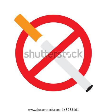 no smoking sign cigarette symbol danger stock vector royalty free
