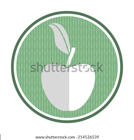Non genetically modifies plants - agricultural icon - stock vector