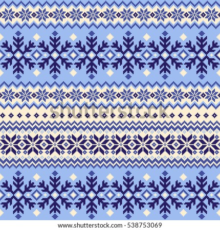 Nordic Pattern Stock Images Royalty Free Vectors