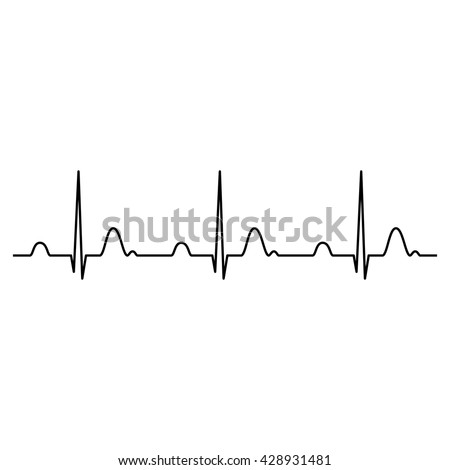 normal ecg stock images  royalty