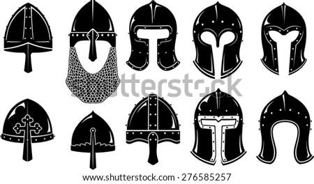Helmet Types Medieval - TripodMarket com