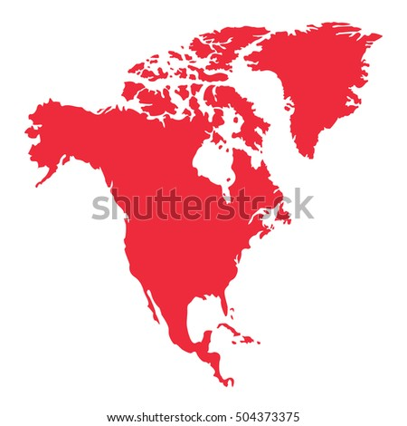 north america map background vector.north america map