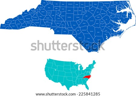 North Carolina Map Stock Images RoyaltyFree Images Vectors - North carolin map