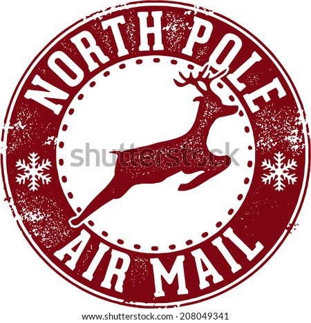 North Pole Stamp Stock Images, Royalty-Free Images & Vectors ...