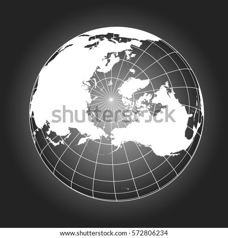 North pole map europe greenland asia stock vector 572806234 north pole map europe greenland asia america russia earth globe gumiabroncs Choice Image