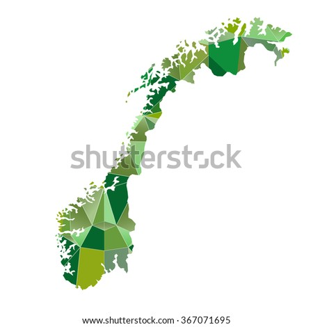 Norway map Country icon