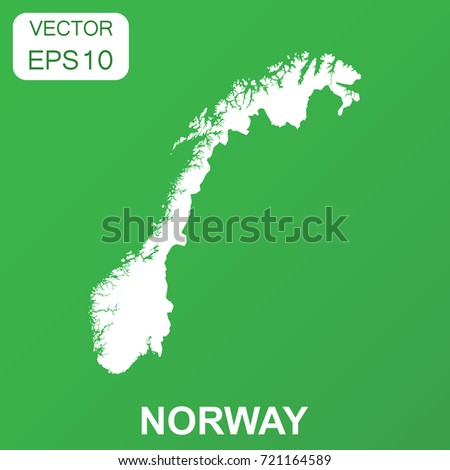 Norway Outline Map Stock Images RoyaltyFree Images Vectors - Norway map eps