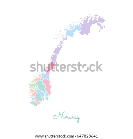 Norway Outline Map Stock Images RoyaltyFree Images Vectors - Norway map outline