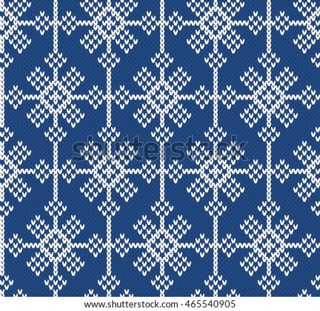 Snowflake Jumper Knitting Pattern : Stock Images, Royalty-Free Images & Vectors Shutterstock