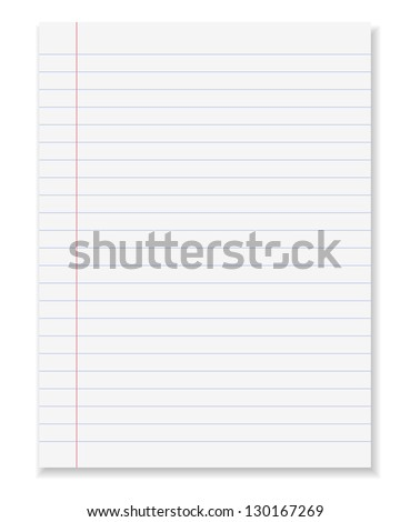 Note paper background. Vector illustration - stock vector