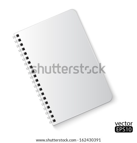 notebook - stock vector