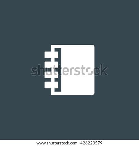 Notebook Icon, Notebook Icon Eps10, Notebook Icon Vector, Notebook Icon Eps, Notebook Icon Jpg, Notebook Icon Picture, Notebook Icon Flat, Notebook Icon App, Notebook Icon Web, Notebook Icon Art - stock vector