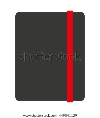 notebook isolated icon design, vector illustration  graphic