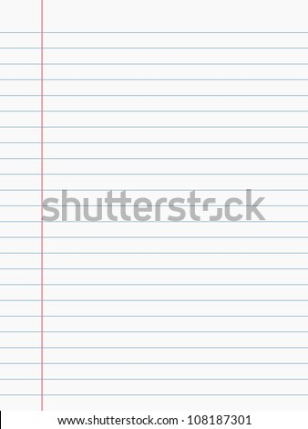 Notebook Paper Stock Images, Royalty-Free Images & Vectors ...