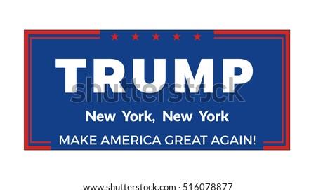 november 14 2016 donald trump political stock vector 516078877