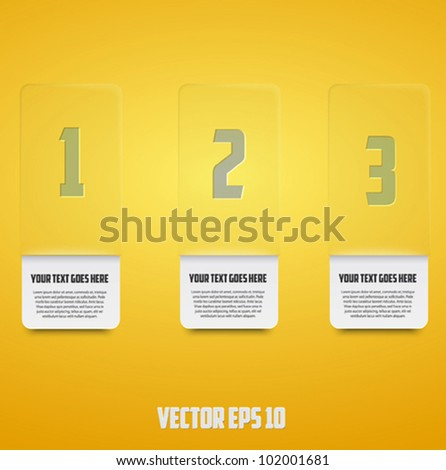 number line background for business