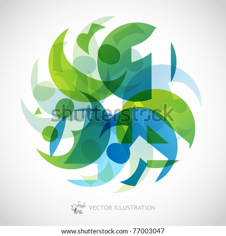 Numbers. Accounts. Education abstract background. - stock vector