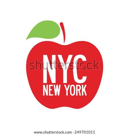 NYC, New York, vector illustration - stock vector
