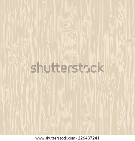 Oak Wood Bleached Seamless Texture. Editable pattern in swatches. - stock vector