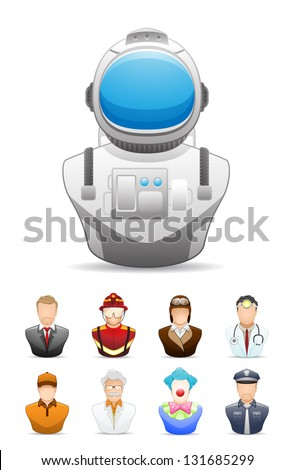 Occupation People Icon # 2 - stock vector