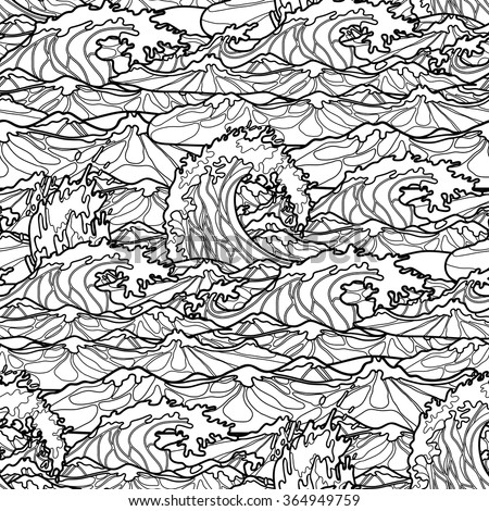 ocean storm coloring pages - photo#5