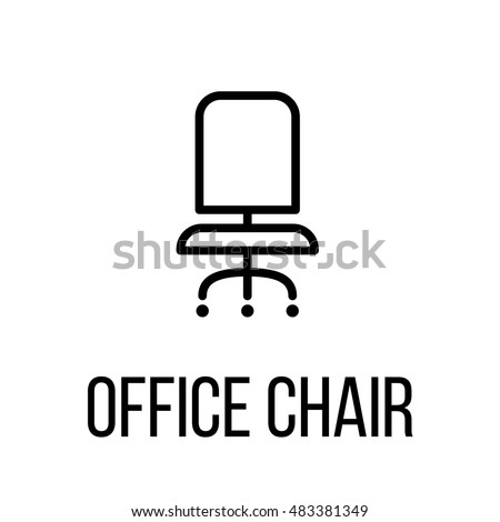 Chair icon stock images royalty free images vectors for Chair logo design