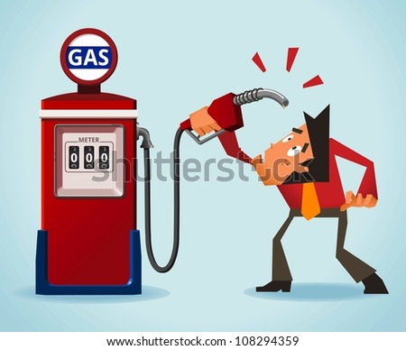 Oil Crisis - stock vector