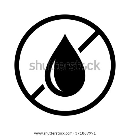 Oil free or trans fat free food product dietary label for apps and websites - stock vector