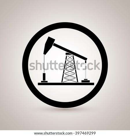 oil industry design  - stock vector
