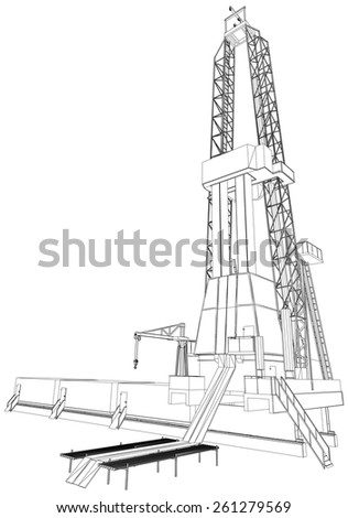 221389271514 besides Oil Gas Drilling Platforms Semi Submersibles likewise Fishing Stuff in addition Oil Rig Anchor further Stock Photoundefined. on types of drilling rigs