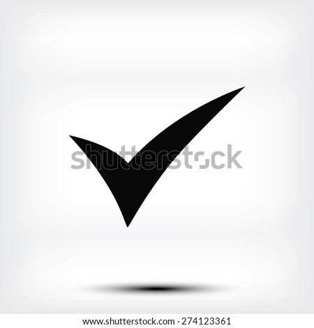 ok icon - stock vector