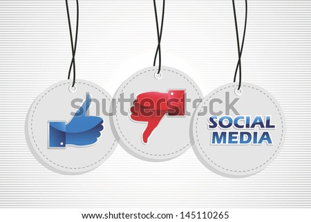 Ok thumb up thumb down hand gesture sign elements set background.  Vector file layered for easy manipulation and custom coloring. - stock vector