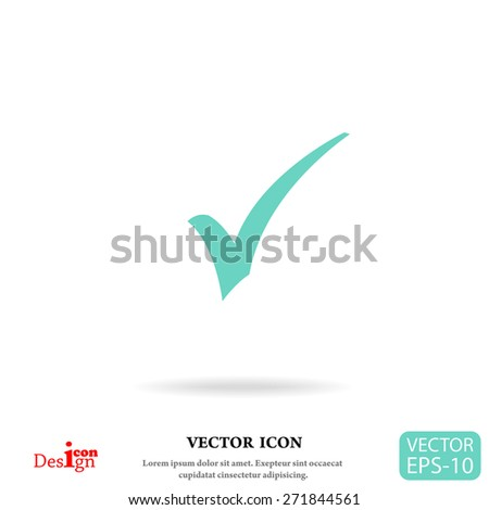 ok vector icon  - stock vector