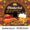 Oktoberfest Decoration - stock photo