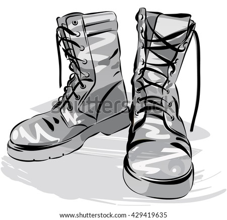 Free Clip Art Dirty Shoes