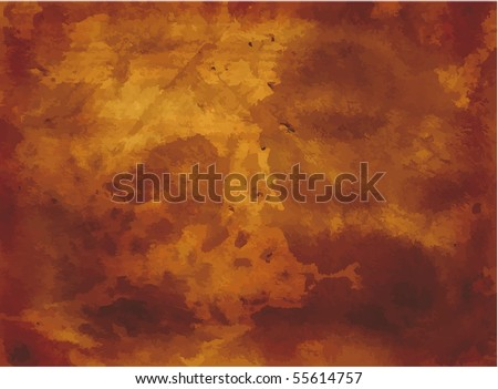 Old Brown background grunge - stock vector