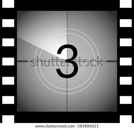 film countdown stock images royaltyfree images amp vectors