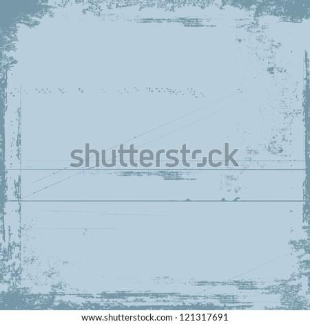 old grunge wall illustration - stock vector