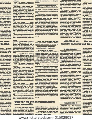 Old fashioned newspaper terms