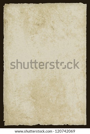 Old Paper Background - stock vector